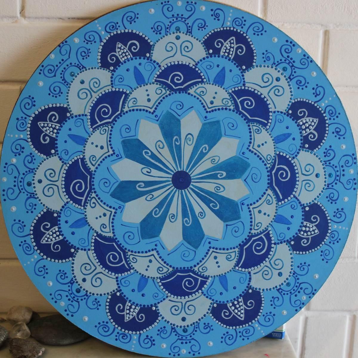 Mandalas Pintados Para Imprimir Mandalas Geomtricos Para Imprimir Y