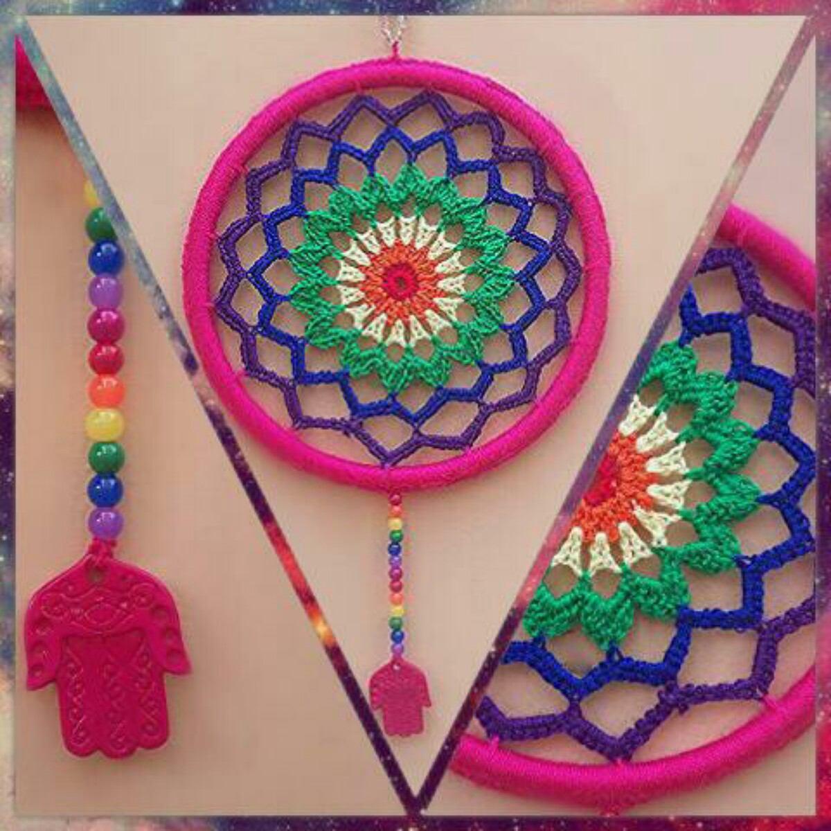 Vistoso Patrón De Crochet Mandala Imagen - Manta de Tejer Patrón de ...