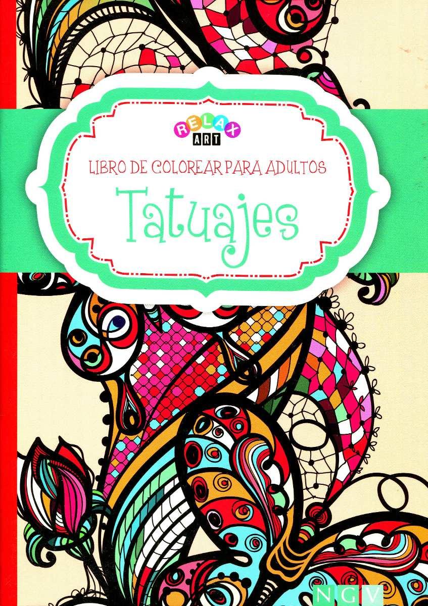 Mandalas Tatuajes Libro De Colorear Para Adultos - Relax Art ...