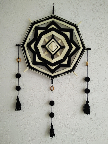 mandalas tejidos, 45 cm ,para decorar , armoniza tu hogar