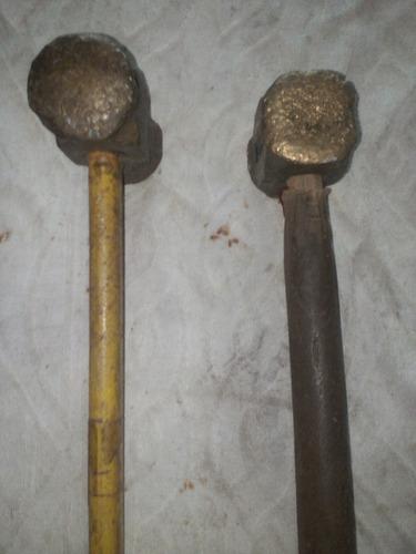 mandarria de bronce anti chispa de 2 kilos