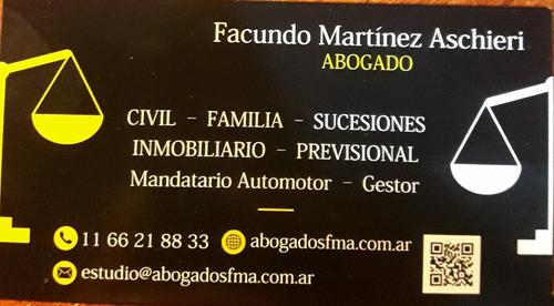 mandatario automotor - gestor - abogado