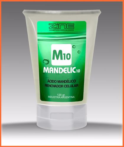 mandelic 10 zine - renovador celular de noche con mandélico