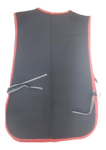 mandil de tela delgada para aseo 5 pzas