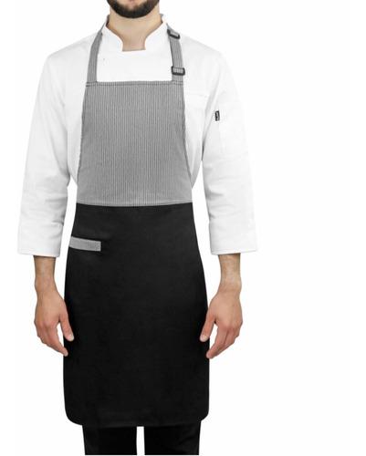mandil peto para chef támesis permachef