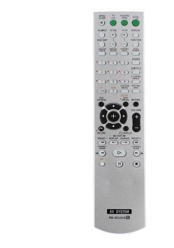 mando a distancia rm-adu005 para sony dvd home theater siste