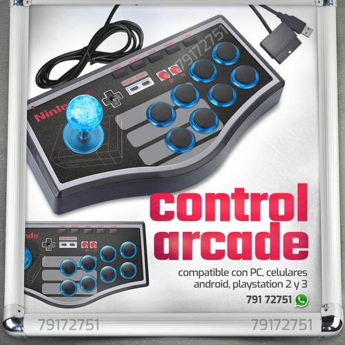 mando arcade para juegos pc playstation android