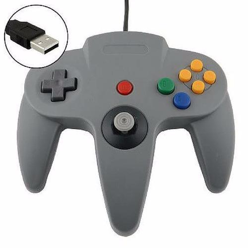 mando de nintendo 64 usb para computadora joystick gamepads