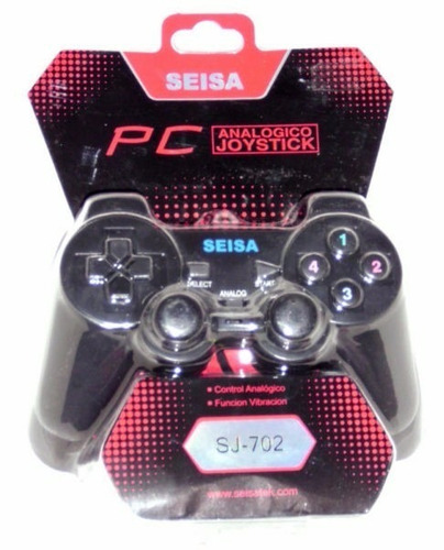 mando joystick analógico usb para  pc / laptop seisa