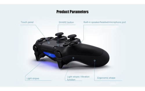 mando para ps4 control inalambrico gamepad play station 4