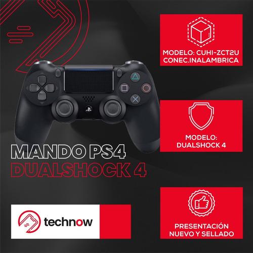 mando ps4 playstation 4 dualshock 4 original sellado - negro