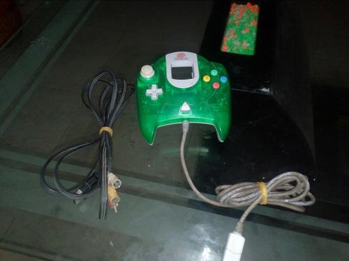 mando y cable de audio y video de sega dreamcast original