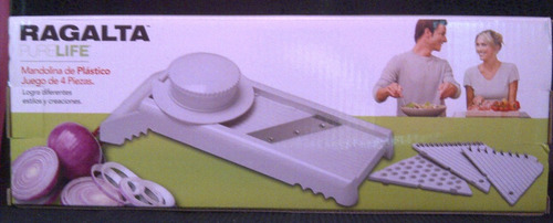mandolina 4 piezas blanca ragalta 3234 xavi
