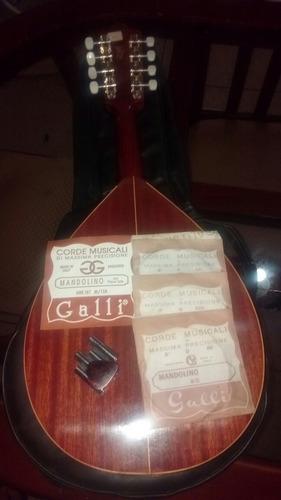 mandolina española vicente tatay instrumento música