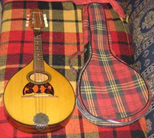mandolina italiano de perfecto sonido