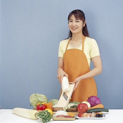 mandolines & slicers,benriner slicer vegetal de blanco (..
