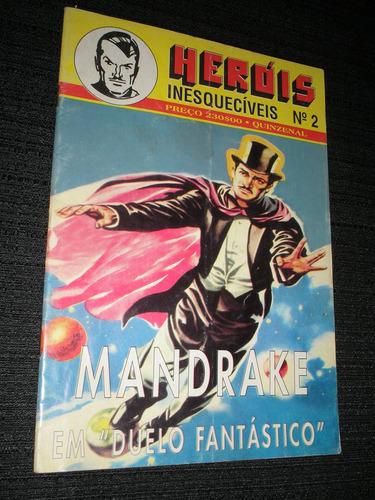 mandrake - heróis inesquecíveis nº 02 - heroishq