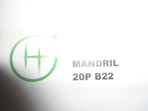 mandril 3/4(20mm)marca hansatecnica