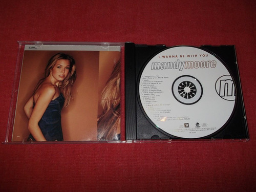 mandy moore - i wanna be with you cd imp ed 2000 mdisk