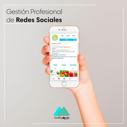 manejo de redes sociales, community manager, diseño gráfico
