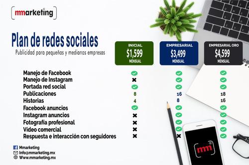 manejo de redes sociales para pequeñas y medianas empresas.