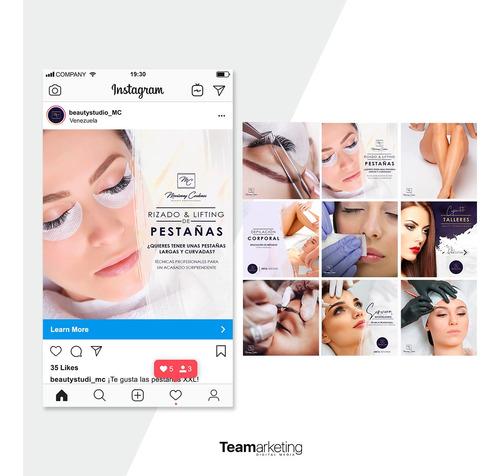 manejo de redes sociales / social media / marketing digital