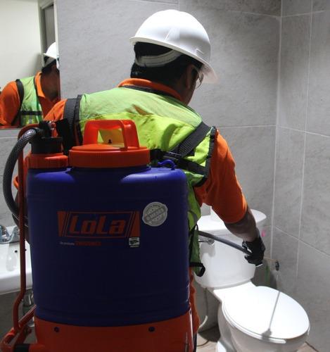 manejo integral de plagas y sanitización