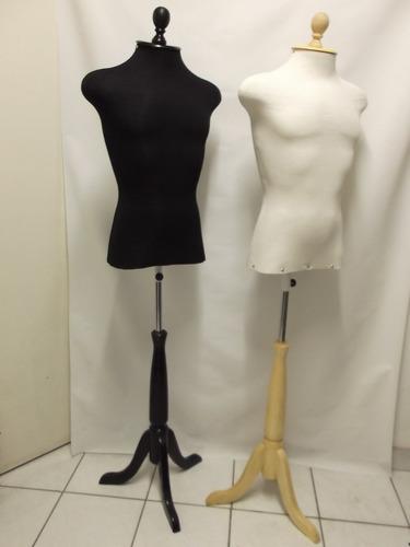 manequim 44 vitrine masculino forrado moda confecção loja b