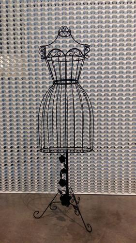 manequim de ferro quarto decoração 15 anos festas lojas