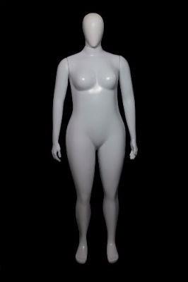 manequim feminino branco gg reta rotomoldagem