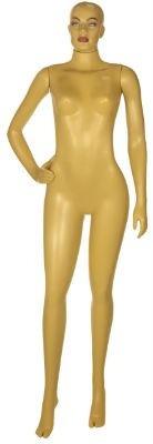 manequim feminino de plast. rotomoldagem pose 2
