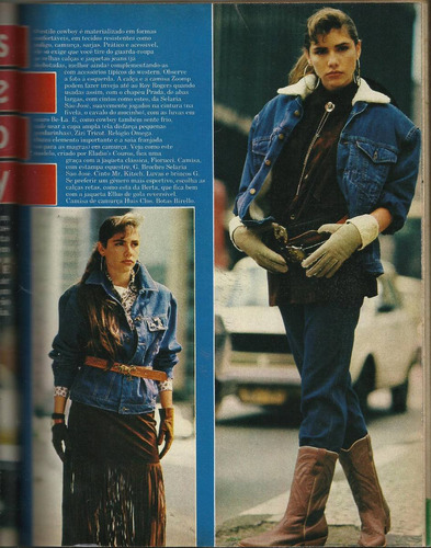 manequim - julho/1986 - com moldes!