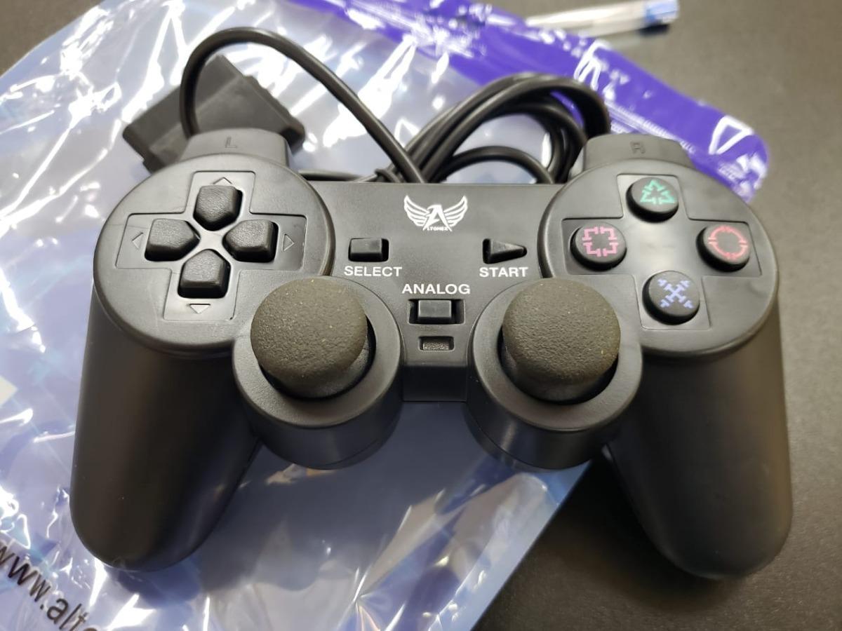fffe9a7ba manete controle joystick ps2 playstation 2 analógico vibra. Carregando zoom.