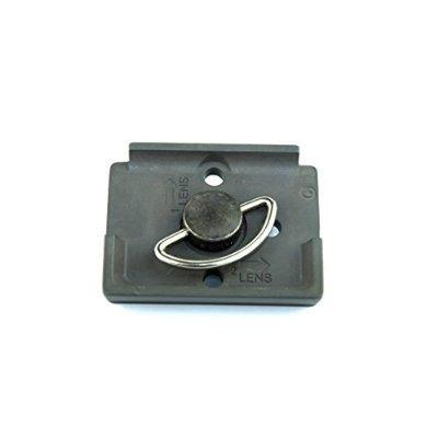 manfrotto 200pl-14 rectangular placa de liberación rápida co