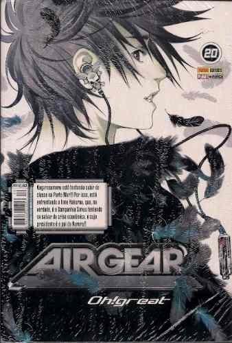 mangá - air gear  oh great nº 20