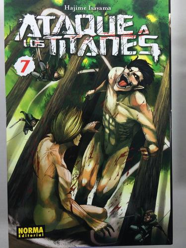 manga ataque a los titanes #7