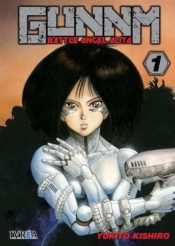 manga battle angel alita tomo 01 - ivrea