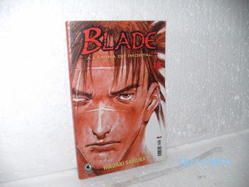 mangá blade a lâmina do imortal #19 hiroaki samura ed.conrad
