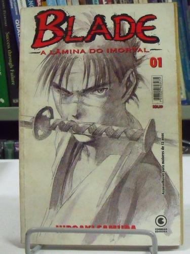 mangá - blade a lâmina do imortal n°01 - hiroaki samura