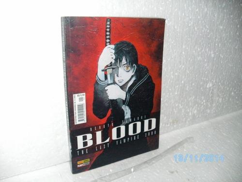 mangá blood the last vampire 2000 # 1 benkyo tamaoki panini