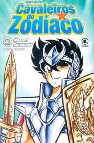 mangá - cavaleiros do zodíaco nº 40