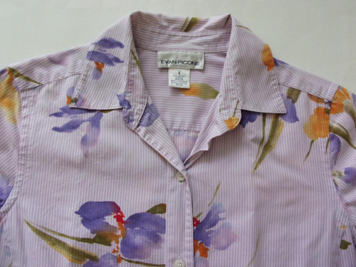 manga corta blusa