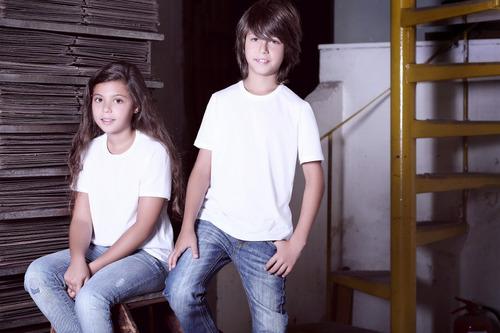 manga corta niños