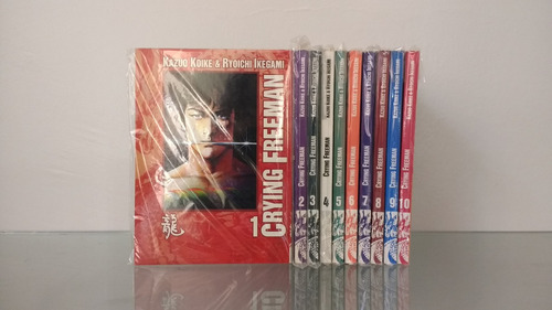 mangá crying freeman vol.1 ao  7 - panini