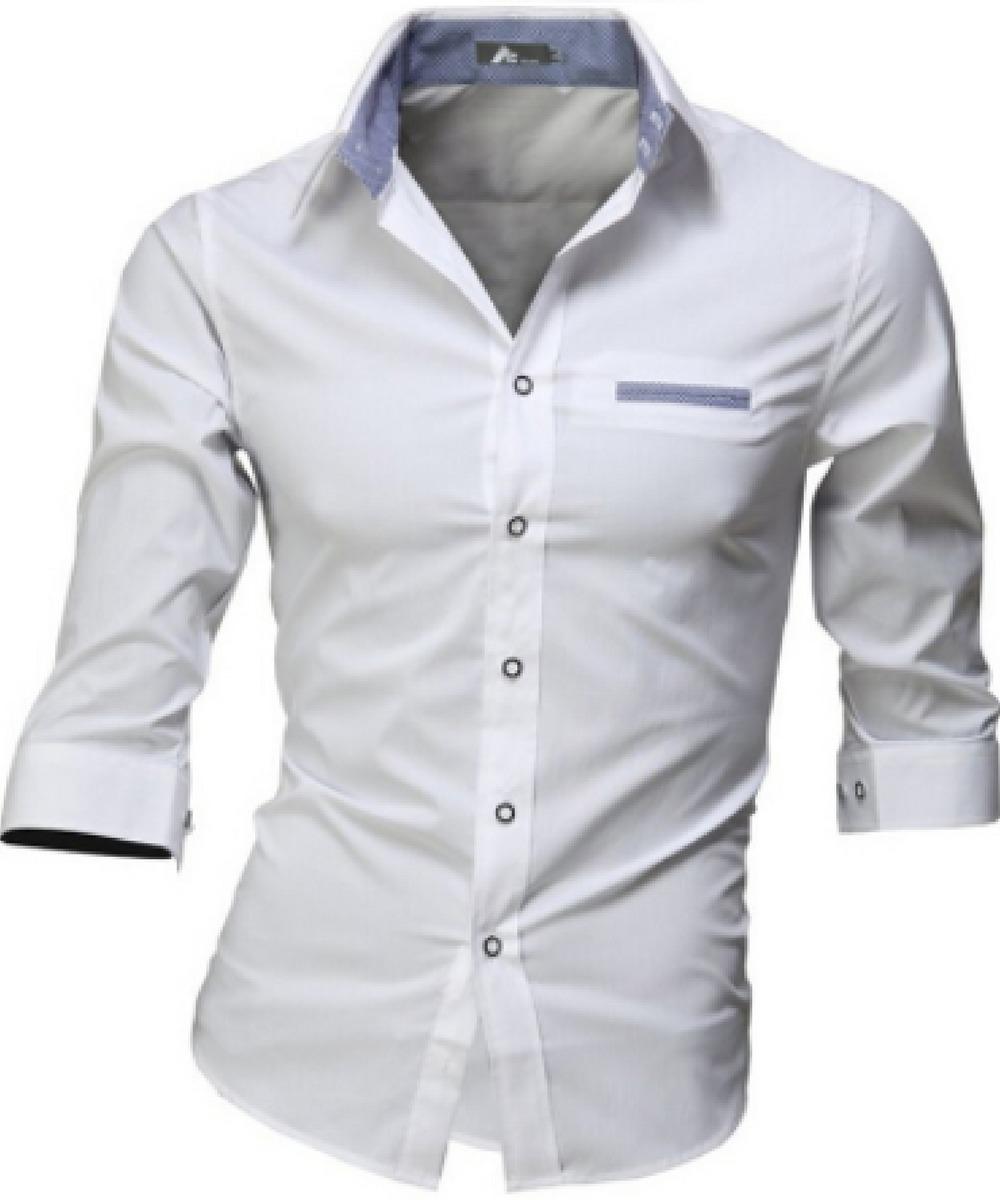 a83d3d385a camisa slim fit manga curta pronta entrega promoção verão. Carregando zoom.