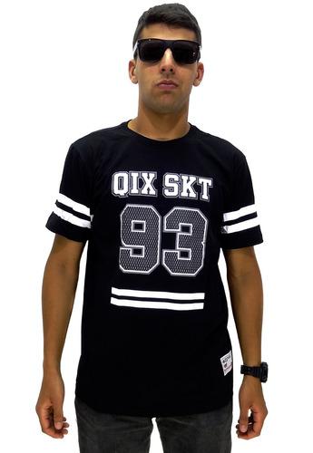 manga curta camiseta