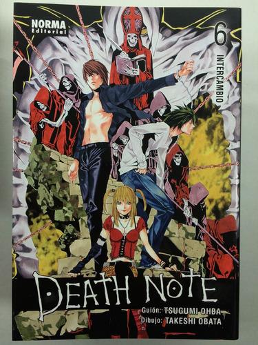 manga death note #6