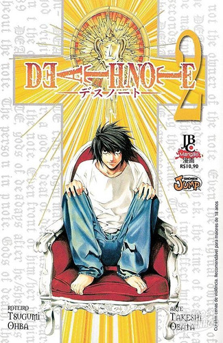 mangá - death note nº 02