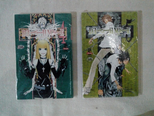 mangá - death note - vol.1 ao vol.5