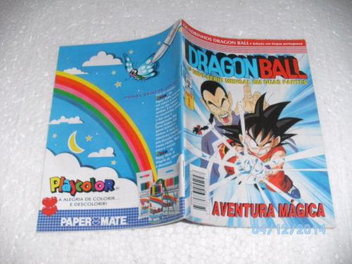 mangá dragon ball nº1 aventura mágica 3ª mini série em duas
